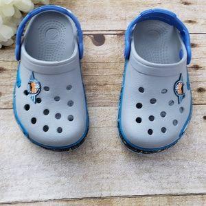 1fd1b5ed955c Kids Grey Crocs Shoes on Poshmark